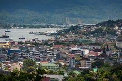 Ambon-Stadt, Indonesien lizenzfreie stockfotos