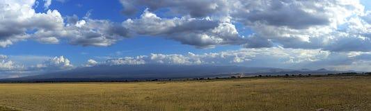 Amboseli National Park Royalty Free Stock Photo