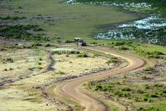 Amboseli nationalpark, Kenya Royaltyfria Foton