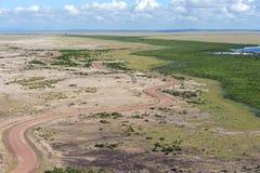 Amboseli park narodowy Zdjęcia Royalty Free