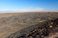 Amboy Crater National Natural Landmark Stock Photos