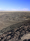 Amboy Crater National Natural Landmark Royalty Free Stock Photo