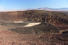 Amboy Crater National Natural Landmark Stock Images