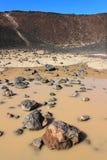 Amboy Crater National Natural Landmark Royalty Free Stock Images