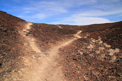 Amboy krateru Wycieczkować Fotografia Royalty Free