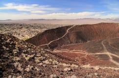 Amboy krateru Wycieczkować Zdjęcie Royalty Free