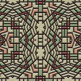 Ambra Alien Tiles Illustration Stock
