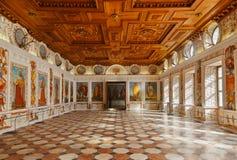 Ambras -因斯布鲁克奥地利宫殿 库存照片