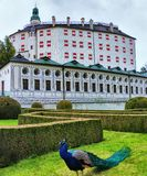 Ambras Castle στο Ίνσμπρουκ, Αυστρία στοκ εικόνες