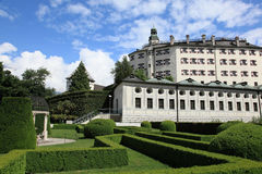 Ambras Castle, Austria. Ambras Castle in Innsbruck, Austria Stock Photo