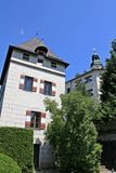 Ambras Castle - Innsbruck - Tower Royalty Free Stock Image