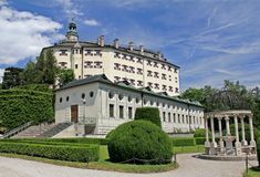 Ambras Castle - Innsbruck Royalty Free Stock Image