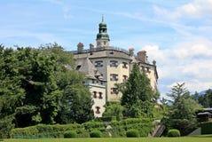 Ambras Castle - Innsbruck Stock Photography