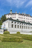 Ambras Castle near Innsbruck, Austria. Stock Photo