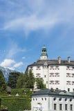 Ambras Castle near Innsbruck, Austria. Stock Image