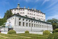 Ambras Castle near Innsbruck, Austria. Stock Images