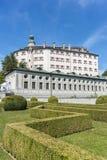 Ambras Castle near Innsbruck, Austria. Royalty Free Stock Image