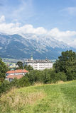 Ambras Castle near Innsbruck, Austria. Royalty Free Stock Images