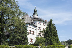 Ambras Castle near Innsbruck, Austria. Stock Photo