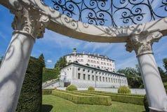 Ambras Castle near Innsbruck, Austria. Royalty Free Stock Images