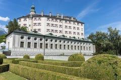 Ambras Castle near Innsbruck, Austria. Royalty Free Stock Photography