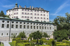 Ambras Castle near Innsbruck, Austria. Royalty Free Stock Photography