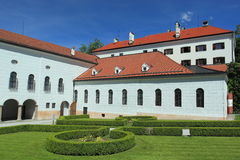 Ambras chateau in Innsbruck Royalty Free Stock Photo