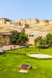 Ambre célèbre de point de repère du Ràjasthàn Photos libres de droits