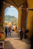 Ambre, Inde - 19 septembre 2017 : Personnes non identifiées marchant dans un marché en Amber Fort India Amber Fort est Image libre de droits