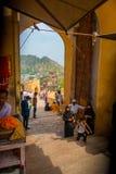 Ambre, Inde - 19 septembre 2017 : Personnes non identifiées marchant dans un marché en Amber Fort India Amber Fort est Image stock