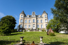Ambrieres - Castle Royalty Free Stock Photos