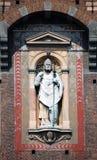 ambrogio ambrose sant米兰的圣徒 库存照片