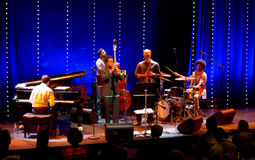Ambrose Akinmusire Quintet executa vivo em 28a April Jazz Imagens de Stock