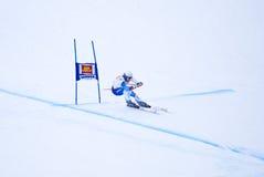 Ambrosi Hoffmann - Fis World Cup. Ambrosi Hoffmann  (Switzerland) - Val Gardena Gröden, Italy - Super G - FIS Alpine Ski World Cup - 19 December 2008 Royalty Free Stock Photo