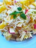 Ambrosia fruit salad Royalty Free Stock Image