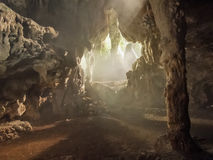 Ambrosio cave at Cuba Royalty Free Stock Photography