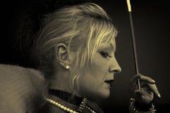 Ambrotype portrait Stock Photos