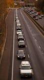 Ambtenaar Libke van de snelweg de begrafenisoptocht Stock Foto