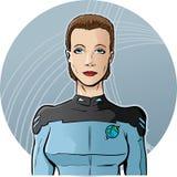Ambtenaar van de toekomst vector illustratie
