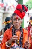 Ambubachi Mela 2016, Kamakhaya świątynia, Guwahati, Assam Fotografia Stock