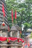 Ambubachi Mela 2016, Kamakhaya świątynia, Guwahati, Assam Zdjęcia Stock