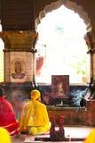 Ambubachi Mela 2016, Kamakhaya świątynia, Guwahati, Assam Obraz Royalty Free