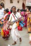 Ambubachi Mela 2016, Kamakhaya świątynia, Guwahati, Assam Obrazy Stock
