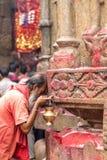Ambubachi Mela 2016, Kamakhaya świątynia, Guwahati, Assam Fotografia Royalty Free