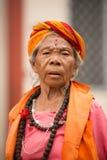 Ambubachi Mela 2016, Kamakhaya świątynia, Guwahati, Assam Obraz Stock