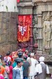 Ambubachi Mela 2016, Kamakhaya-Tempel, Guwahati, Assam Royalty-vrije Stock Foto
