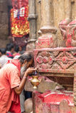 Ambubachi Mela 2016, Kamakhaya-Tempel, Guwahati, Assam Royalty-vrije Stock Fotografie