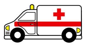 Ambulância ilustração do vetor