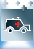 ambulância 2 Ilustração Stock