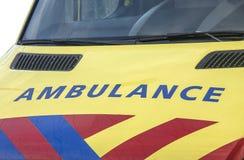 Ambulância fotografia de stock royalty free